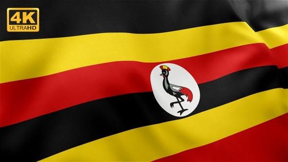 Thumbnail for Flag of Uganda - 4K