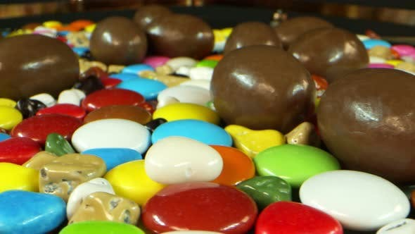Delicious And Sweet Candies And Chocolate 2