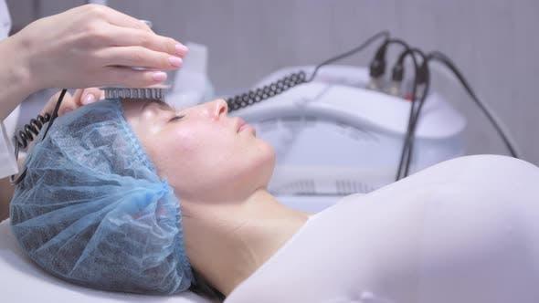 Hardware-Kosmetologie-Behandlung
