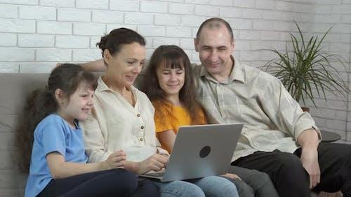 Family Speak with Relatives