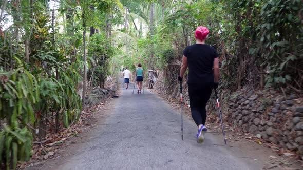 Thumbnail for People Do Nordic Walking