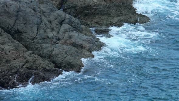 Turquoise Rolling Wave,
