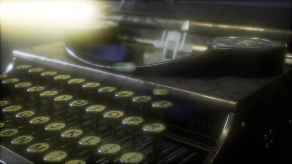 Thumbnail for Retro Schreibmaschine