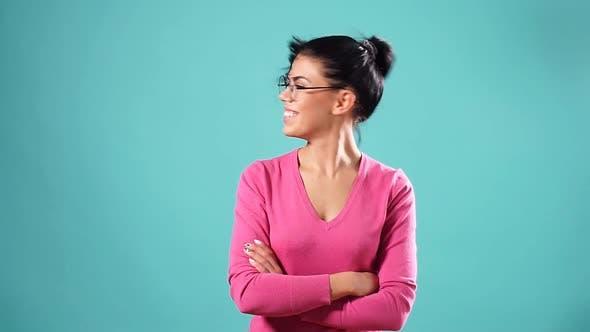 Thumbnail for Romantisch Schön Weiblich zeigen Ihr Gesundes Haar