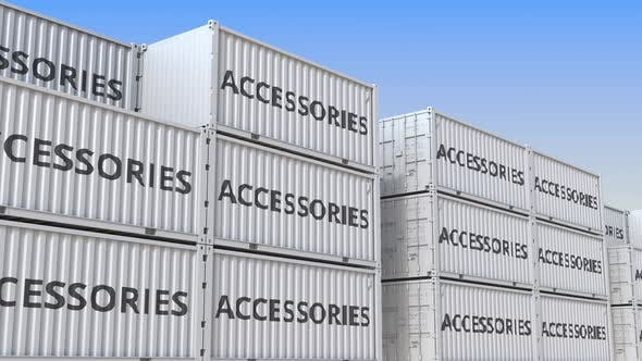 Cargo Containers with Accessories