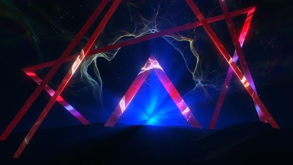 Neon Abstract BG 02