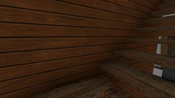 Thumbnail for Wooden staircase in the house