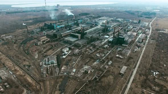 Thumbnail for Metallurgical Plant with Smoking Chimneys