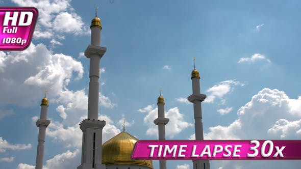 Thumbnail for White Clouds Over the Mosque