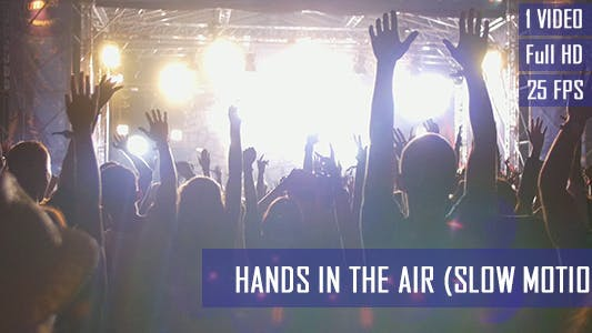 Thumbnail for Concert Crowd Hands In The Air