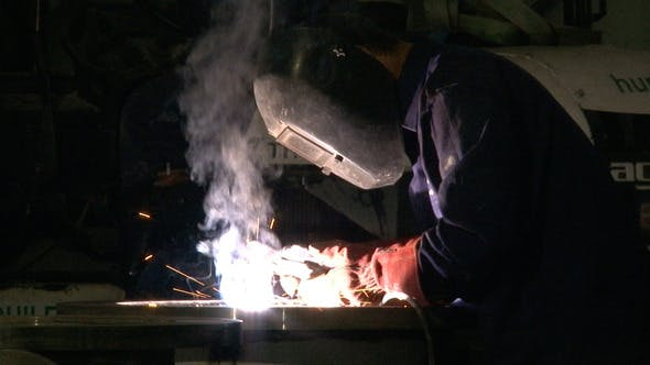 Thumbnail for Work 11 Welder with Welding Electrode