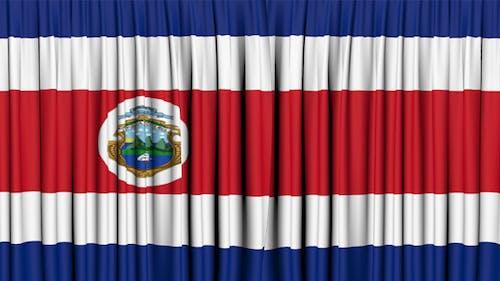 Costa Rica Curtain Open