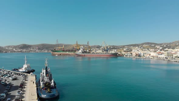 Thumbnail for Aerial View of Syros