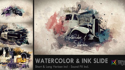 Thumbnail for Watercolor & Ink Slideshow