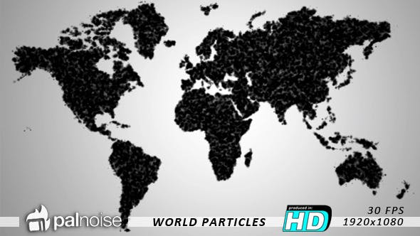 Thumbnail for World Map Particles