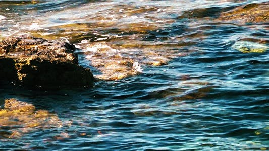 Rocks And Sea Water