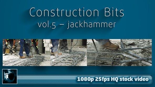 Thumbnail for Construction Bits 5 -- Jackhammer