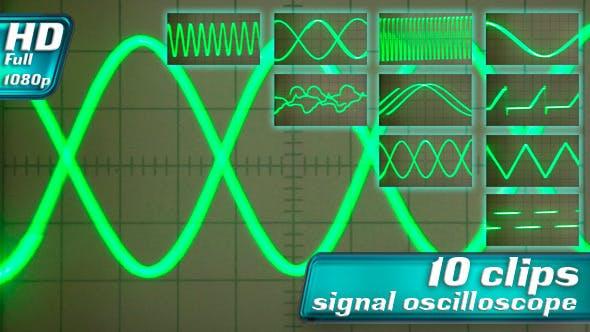Oscilloscope Signal