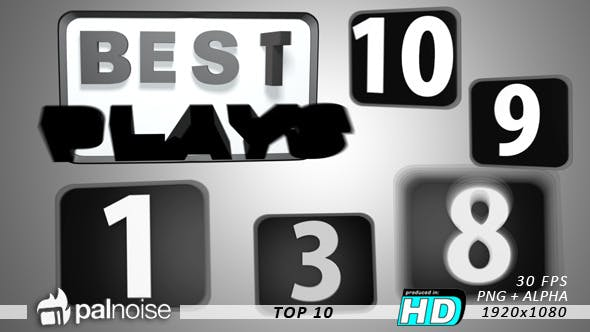 Thumbnail for Top 10 Countdown