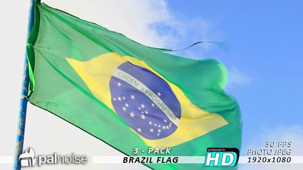 Thumbnail for Brazil Flag (3-Pack)