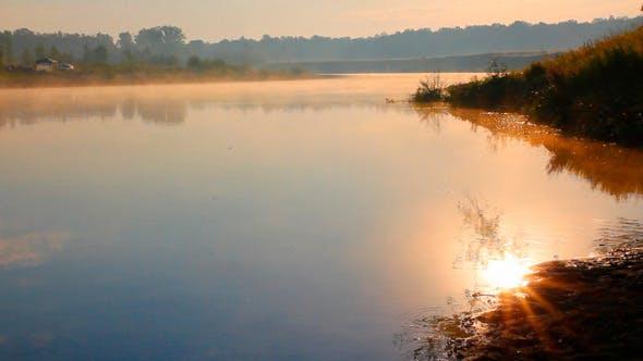 Thumbnail for Sunrise Over River