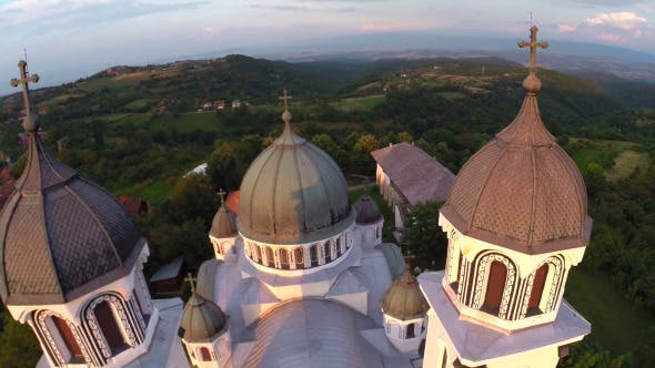 Thumbnail for Aerial View Of Orthodox Church 1