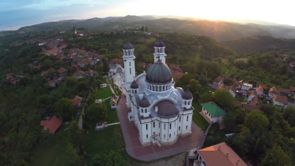 Thumbnail for Aerial View Of Orthodox Church 2