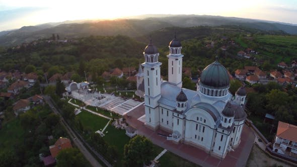 Thumbnail for Aerial View Of Orthodox Church 3
