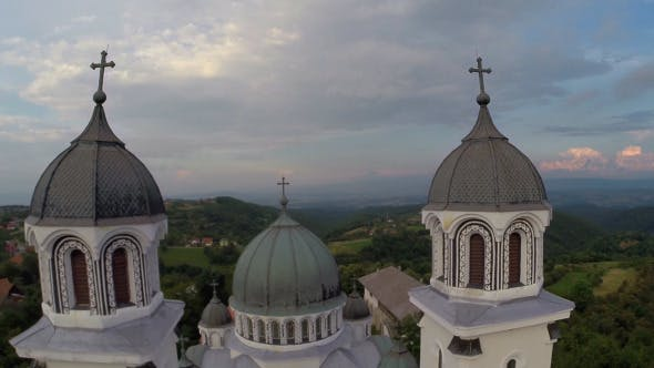 Thumbnail for Aerial View Of Orthodox Church 5