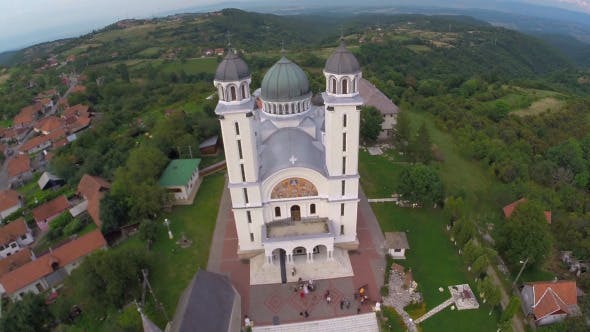 Thumbnail for Aerial View Of Orthodox Church 6