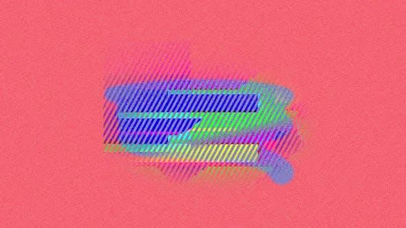 Retro 80s style animation