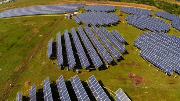 Thumbnail for Aerial View Of Photovoltaic Solar Units 3
