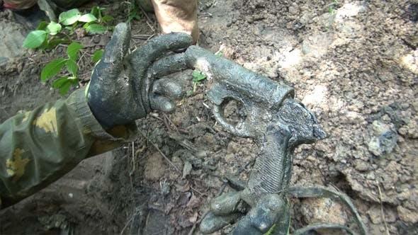 Thumbnail for Military Archeology: WW2 German Flare Gun
