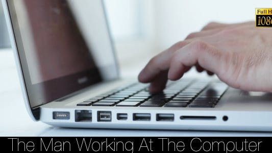 Cover Image for The Man Working At The Computer