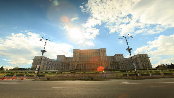 Thumbnail for Romanian Parliament House In Bucharest 3