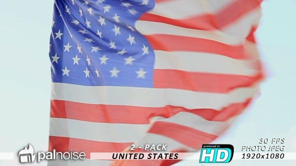 Thumbnail for USA Flag (2-Pack)