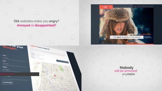 Thumbnail for Corporate Kinetic Website Trailer/Presentation