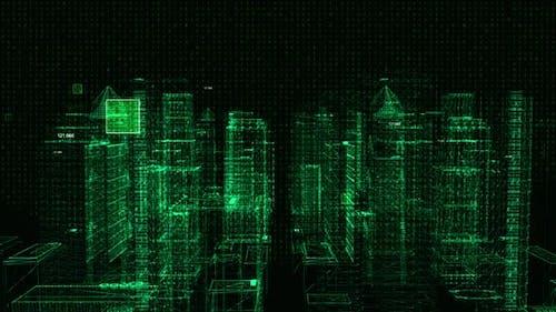 Digital Cyber City 4K