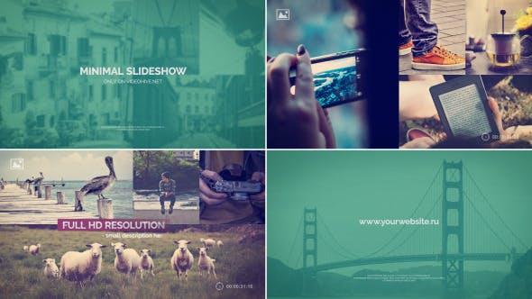 Thumbnail for Minimal Slideshow Project