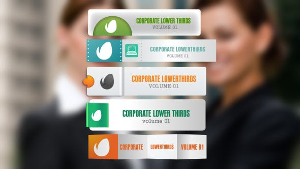 Thumbnail for Corporate Lowerthirds Vol1