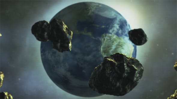 Thumbnail for Asteroids are Flying to the Earth