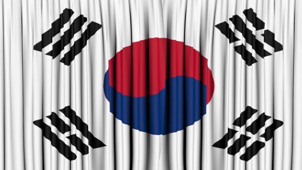 South Korea Curtain Open