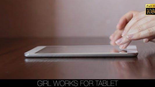 Thumbnail for Girl Works For Tablet 15