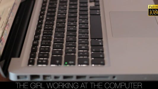 Cover Image for The Girl Working At The Computer 11
