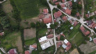 Aerial Drone Village