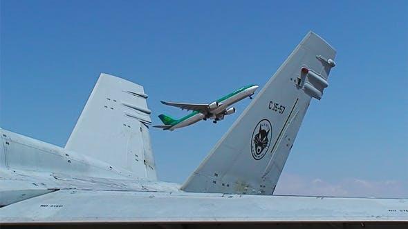 Thumbnail for Aircraft At Airport 11