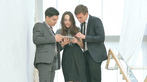 Three Businessman Solve Problems