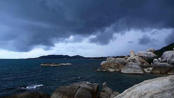Thumbnail for Rocky Shore before Storm
