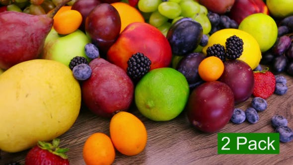Thumbnail for Different Berries and Fruits (2-Pack)