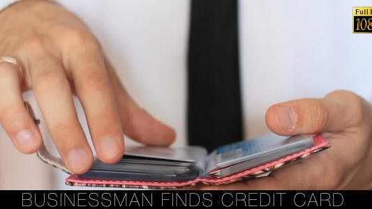 Thumbnail for Businessman Finds Credit Card